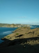 """View from top of the hill """"Bukit Merese"""" Tanjung Aan Beach"""