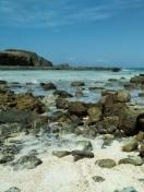 Tanjung aan beach, south Lombok facing Indian ocean