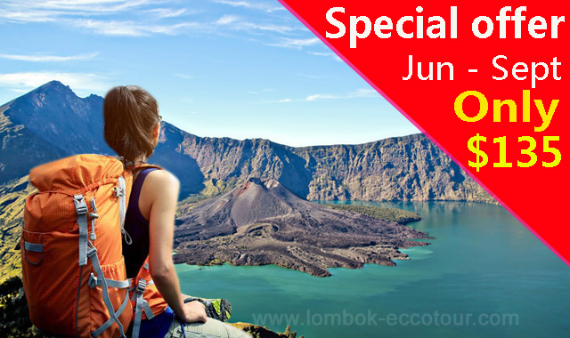 Mount Rinjani Trekking 3 Days 2 Nights Promo Price