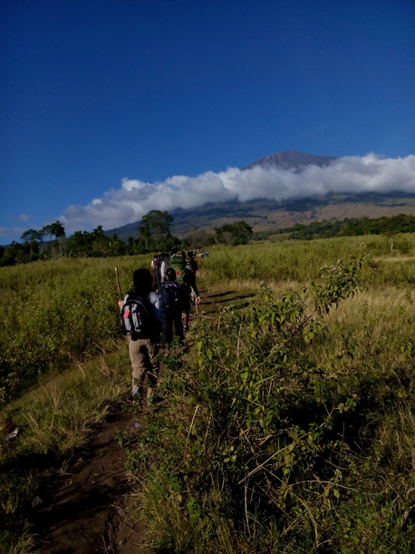 Mount rinjani trek start from Sembalun lawang vilage