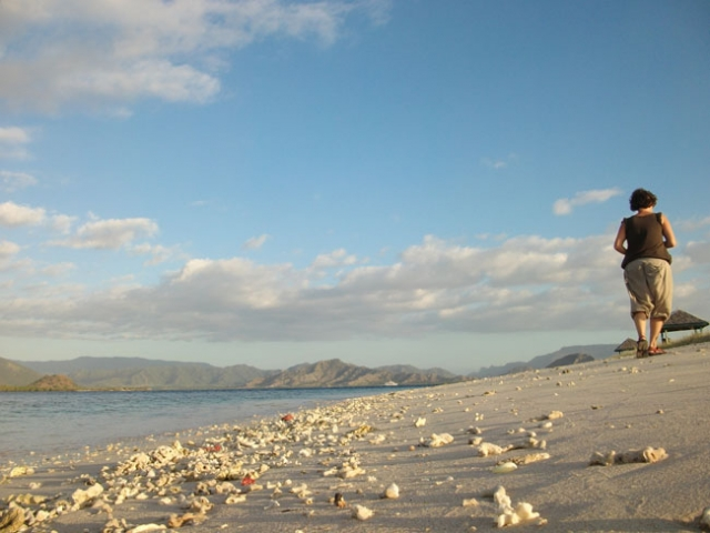Famous kenawa island beach on the west of Sumbawa