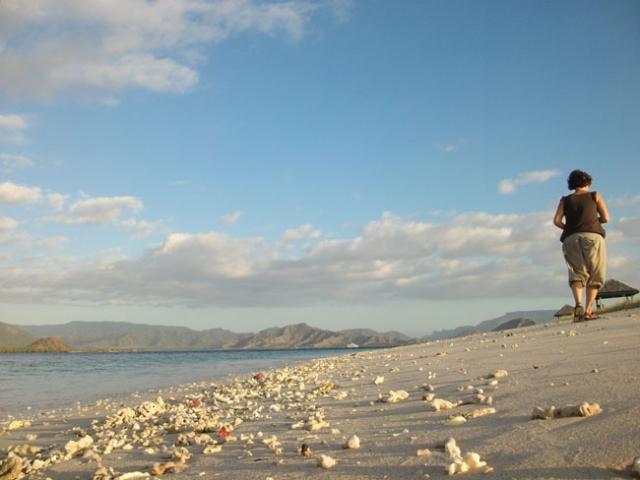 Famous kenawa island beach on the west of Sumbawa