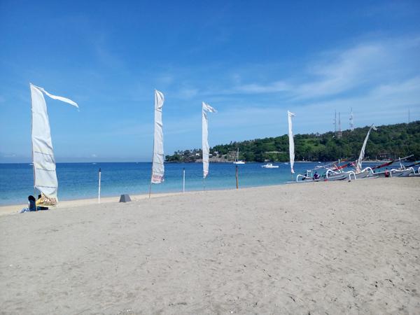 senggigi beach famous tourist destination