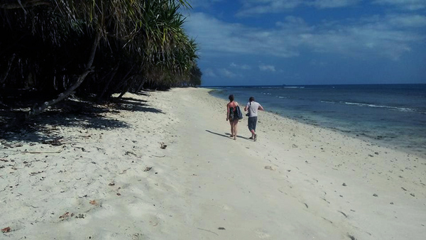 walk around gili nanggu only 30 minutes