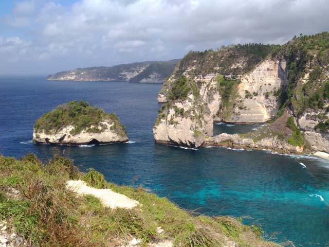 View at Pulau Seribu Nusa Penida