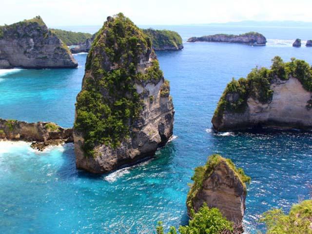 Amazing view at Pulau Seribu Nusa Penida