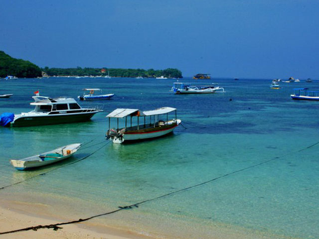 Jetty at Toya Pakeh Nusa Penida