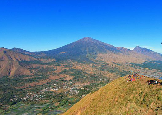 Rinjani View from Pergasingan hill