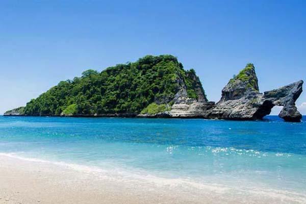 Atuh Beach view